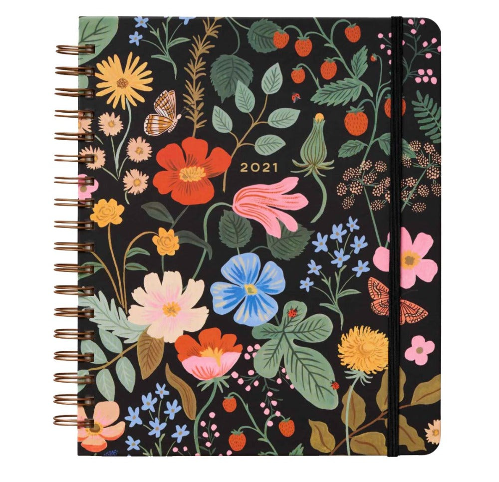 Spiral Planner Strawberry Fields