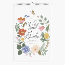 Load image into Gallery viewer, Wall Calendar Wild Garden