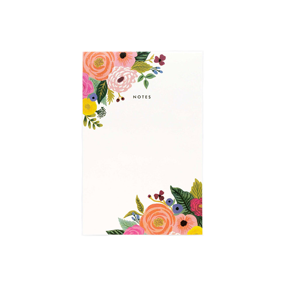 Small Floral Rifle Paper Notepad Shop stationery at paper twist in charlotte