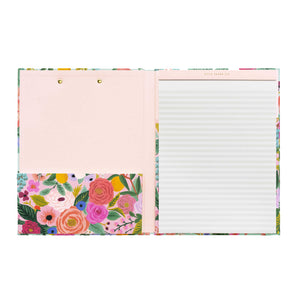 Clipfolio Teal Floral