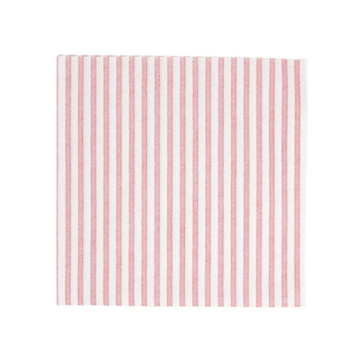 Disposable striped cocktail napkin paper shop small local Charlotte hostess gift