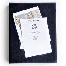 Load image into Gallery viewer, Letterpress Grand Silk Stationery 112