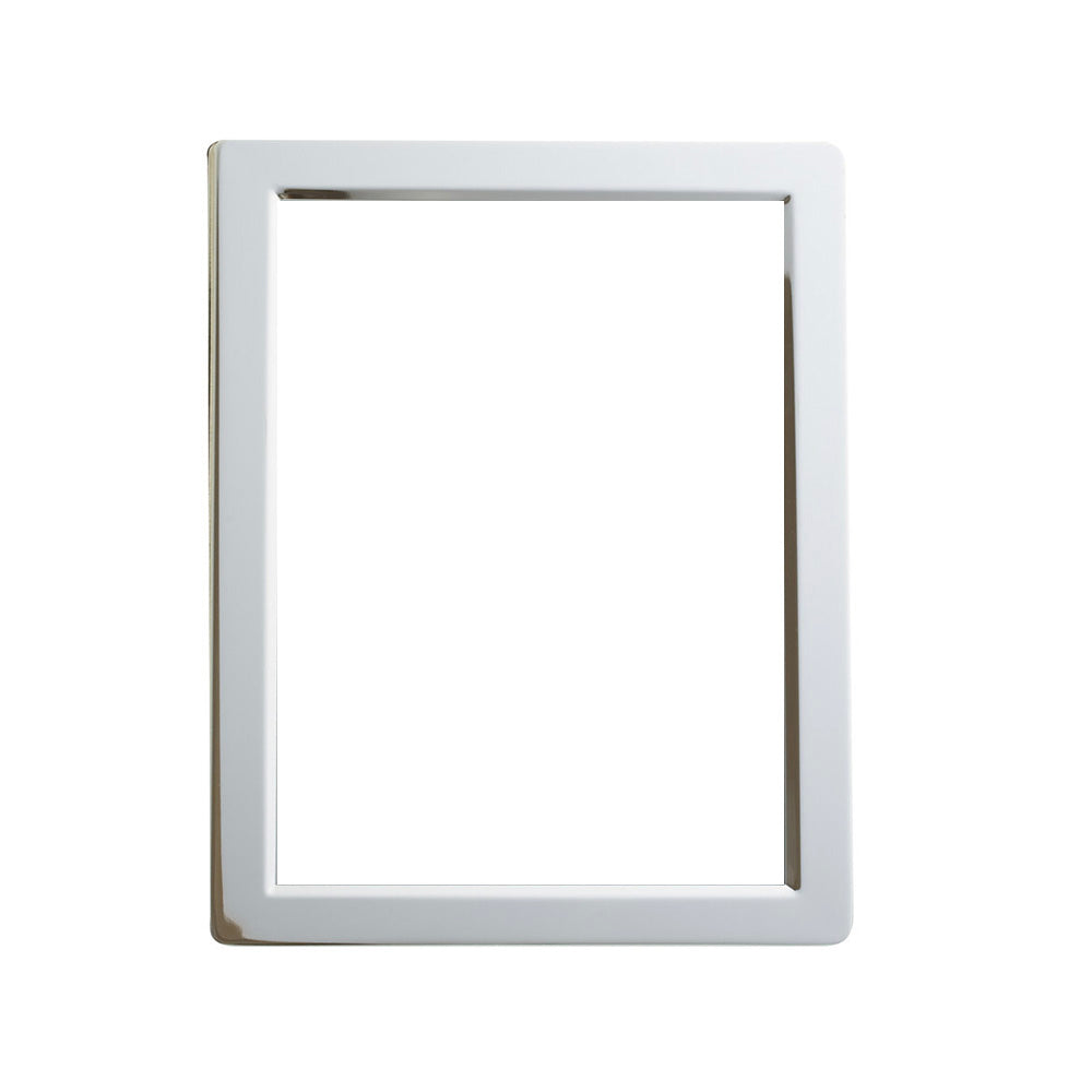 Beveled silver frame. Shop home decor at paper twist in charlotte.