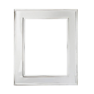 Silverplate Frame Raised Edge Wide