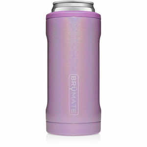 Glitter slim can holder on the go cup
