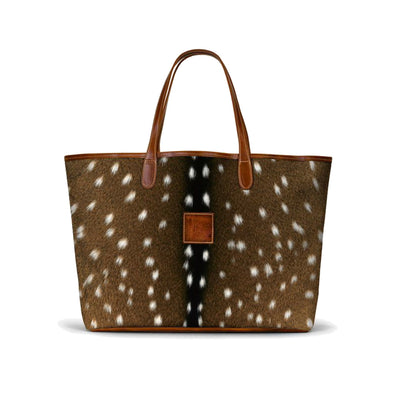 Leather Tote Bag Purse Travel Gifts for Her Personalized Animal Print Shop Small Local Dallas Charlotte