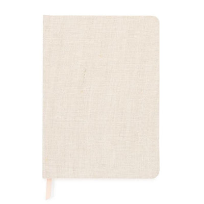 Linen Bound Journal Notebook Desk Accessories Gifts Paper Shop Small Charlotte