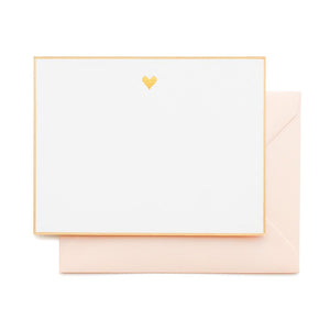 Metallic Foil Notes Blush Pink Envelope Thank You Correspondence Stationery Stationary Shop Small Charlotte