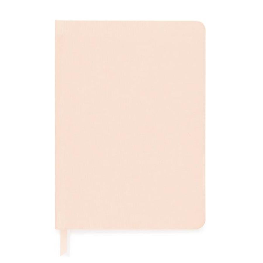 Pink Blush Bound Journal Notebook Desk Accessories Gifts Paper Shop Small Charlotte