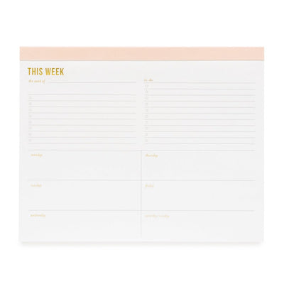 Weekly Notepad Planner Shop Small Charlotte