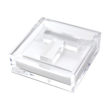 Load image into Gallery viewer, Acrylic Initial Napkin Holder