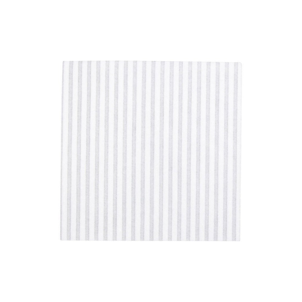Disposable striped dinner napkin paper shop small local Charlotte hostess gift