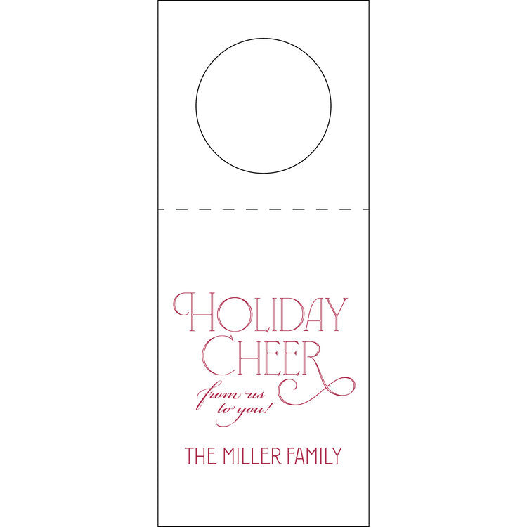 Letterpress Wine Tag Holiday 3