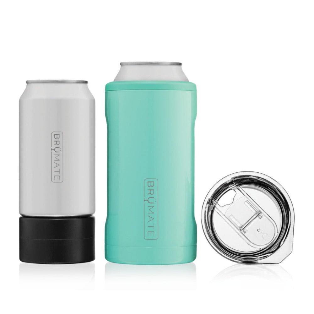 Aqua can holder on the go cup