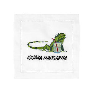 Cocktail Napkin Iguana Margarita