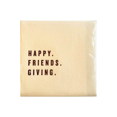 friends giving napkin entertaining hostess gift charlotte papertwist