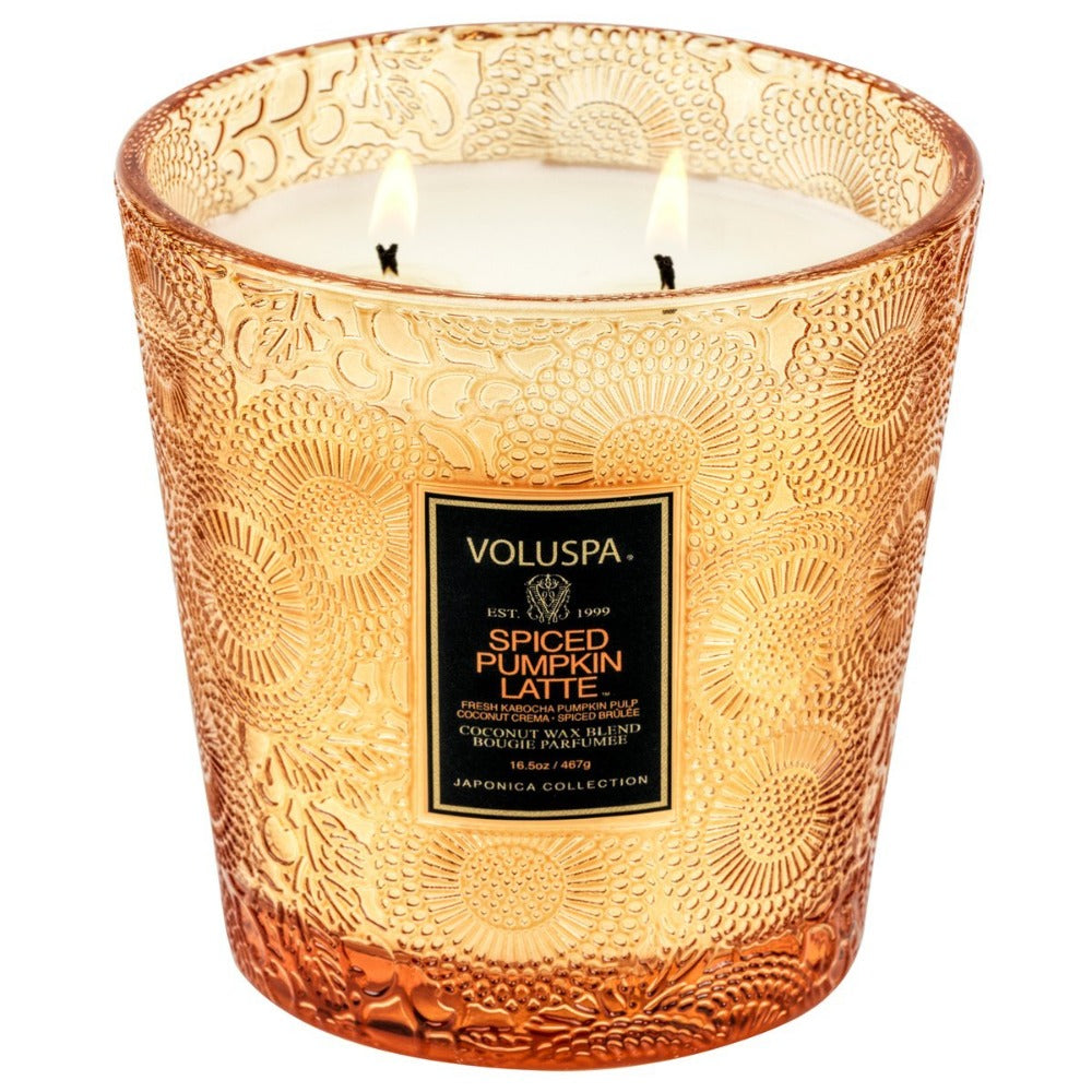 Pumpkin Spiced 2 Wick Boxed Candle