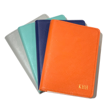 "Load image into Gallery viewer, Leather Refillable Notebook 7"" Bright"
