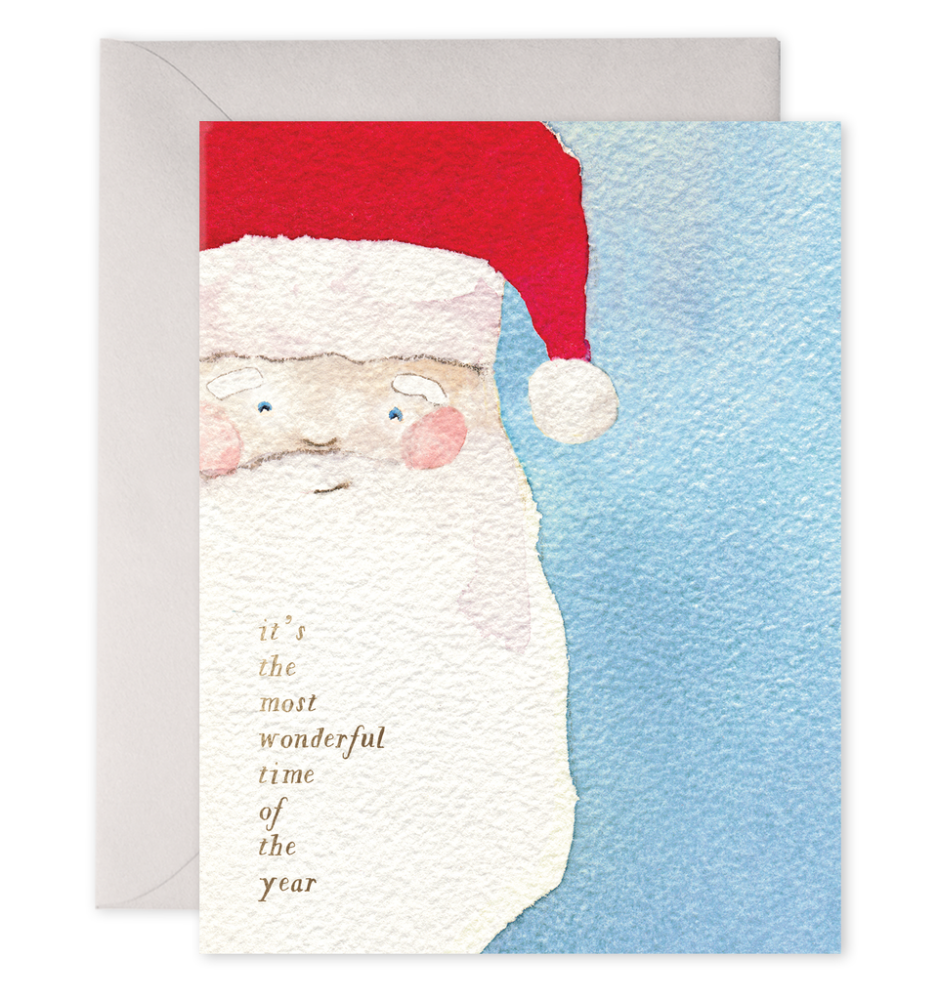 Notecards Santa