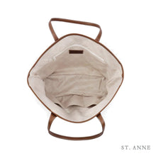 Load image into Gallery viewer, Leather St. Anne's Tote Classic Camo
