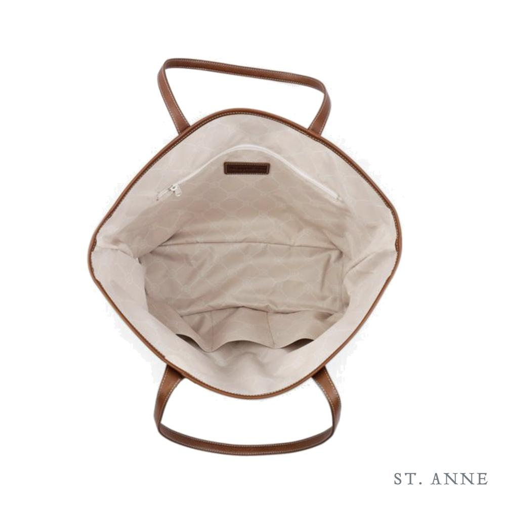 Leather St. Anne's Tote Classic Camo