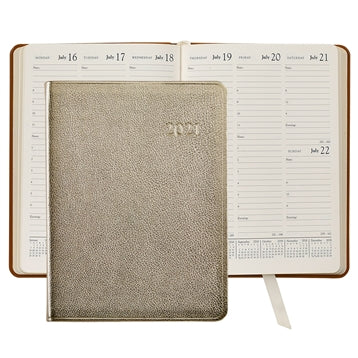 Leather Calendar Agenda Personalized