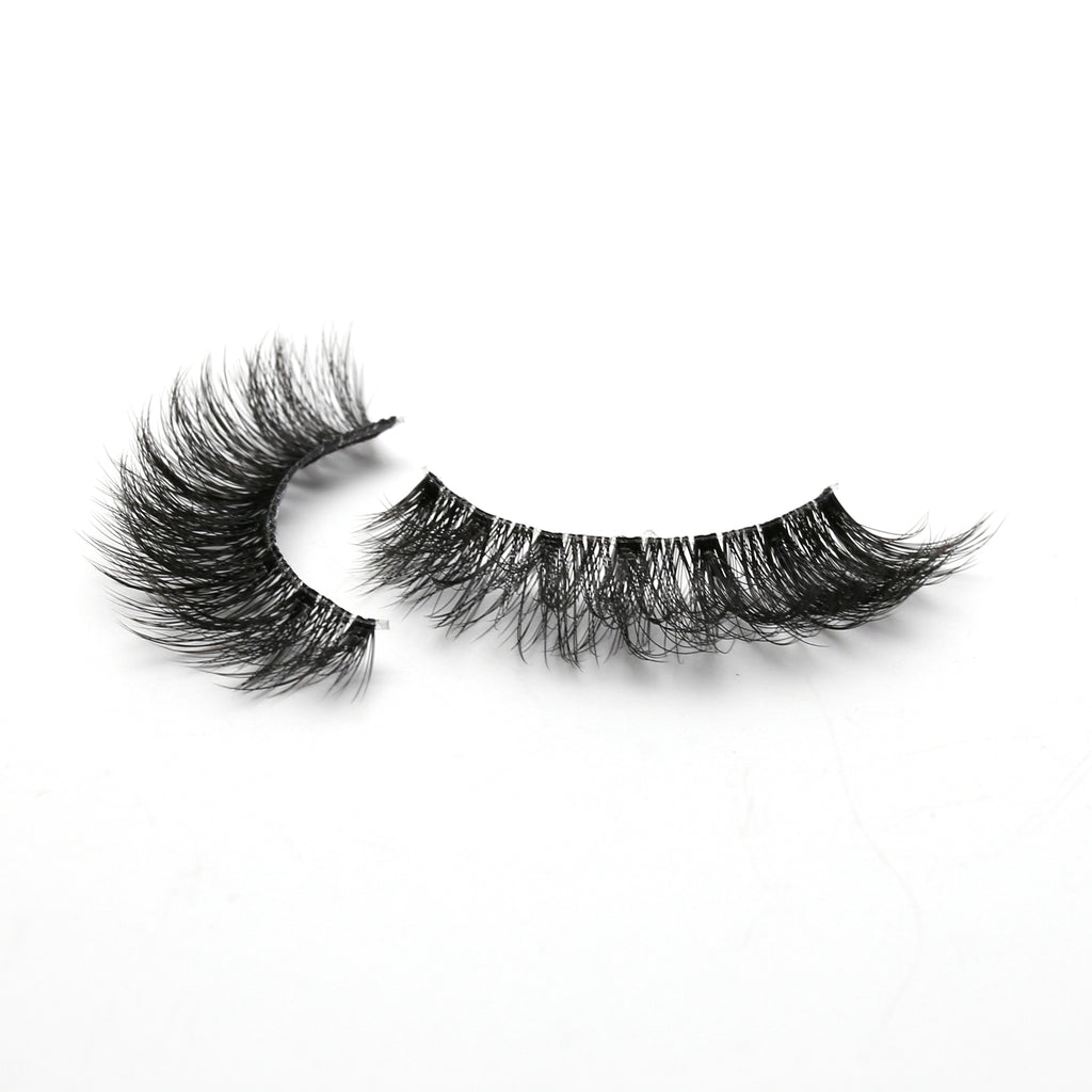 Glam 3D Invisiband Faux Mink Lashes