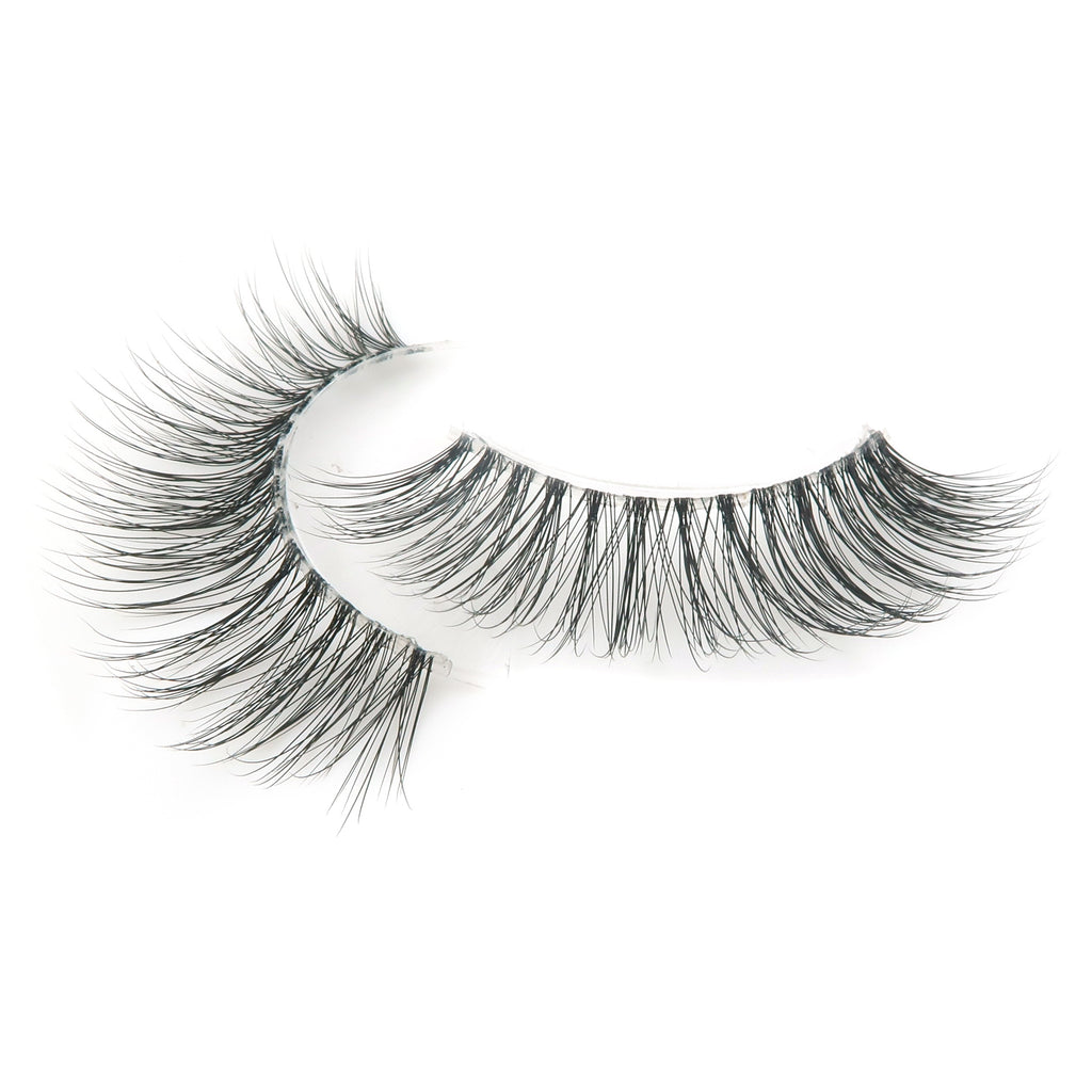 Natural 3D Invisiband Faux Mink Lashes - FYF Cosmetics
