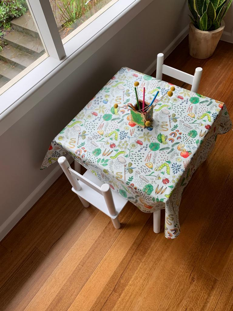 High chair mats | Food splash mats | Marmalade Lion