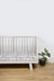 Swedish Check Marmalade Lion Cot Sheet