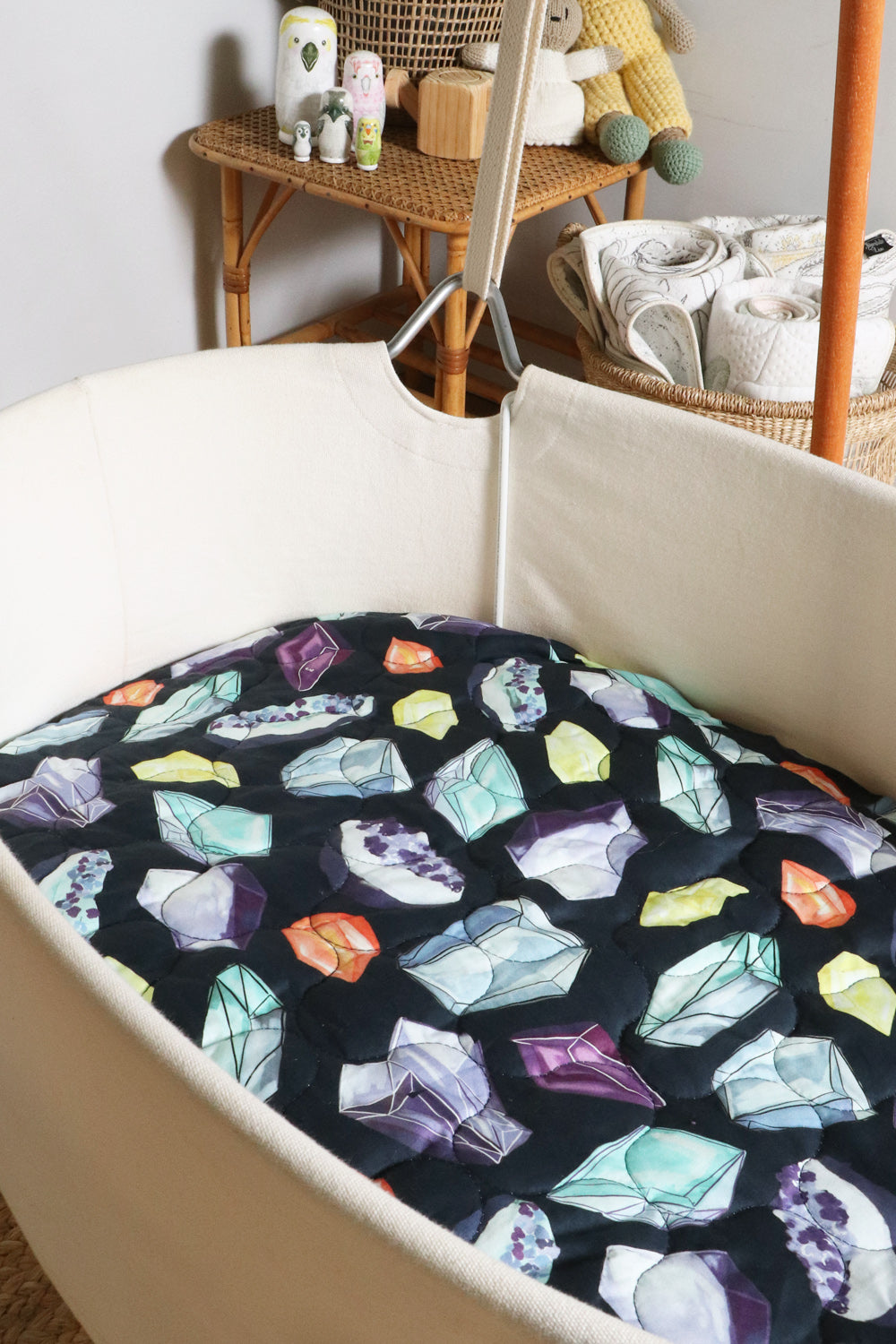 Crystals Expect-A-Spill Bassinet Sheet