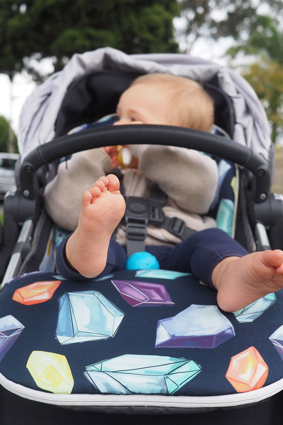 Crystals Universal Pushchair Liner <br>(Cover only)