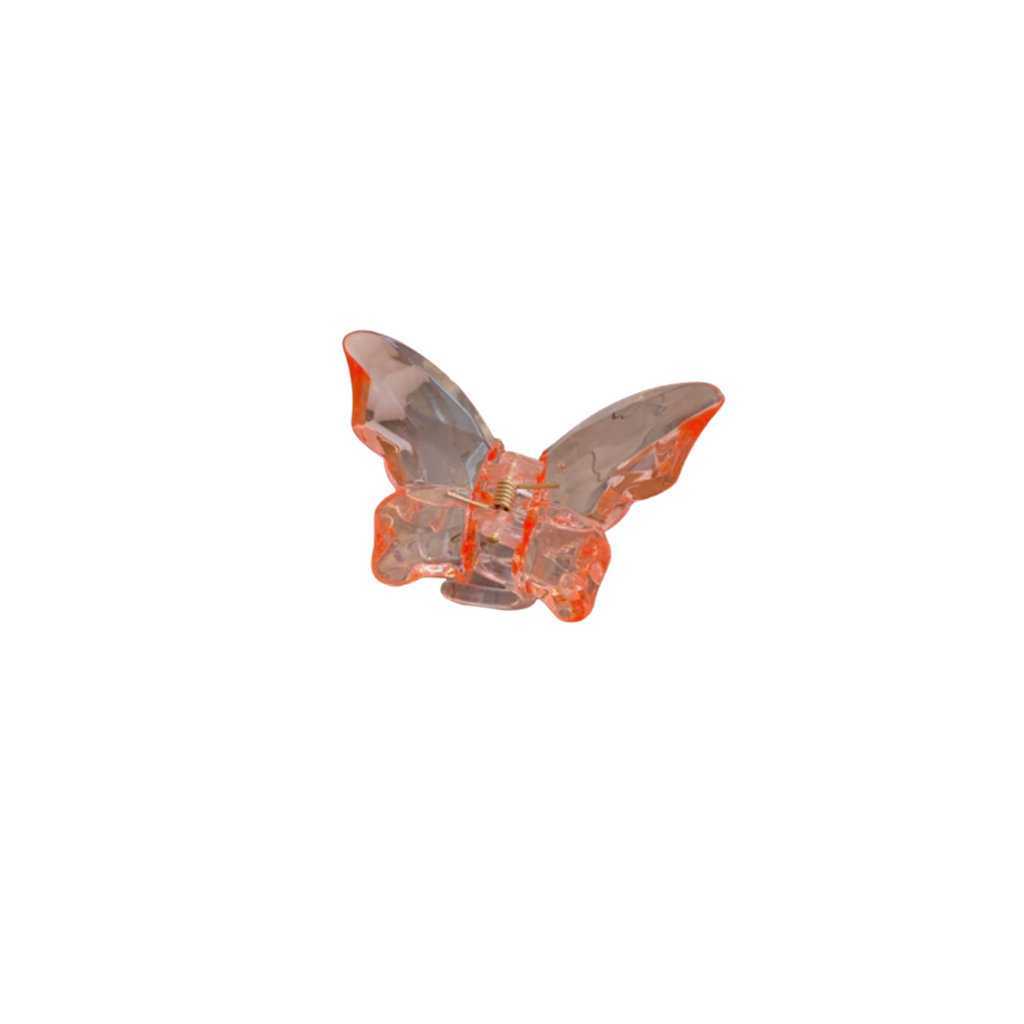 Butterfly Orange Hair Claw
