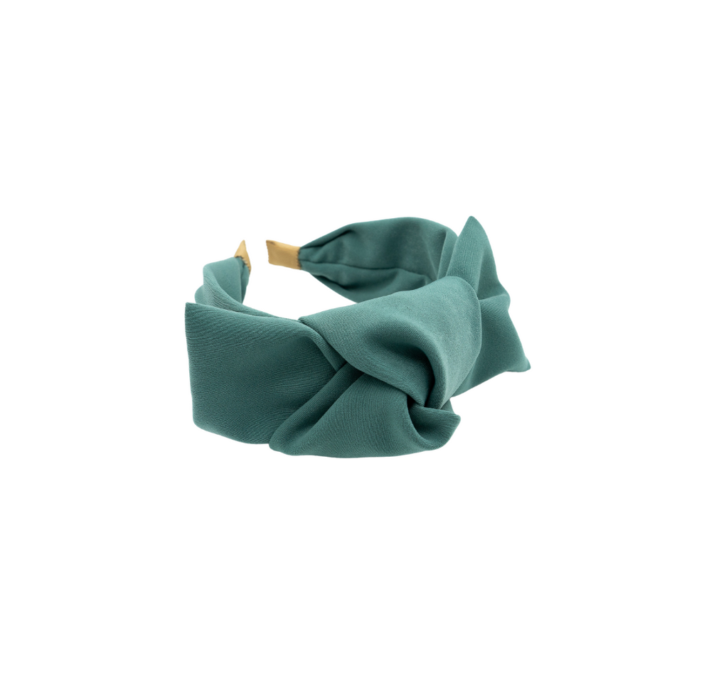 Apoline Blue Big Bow Headband