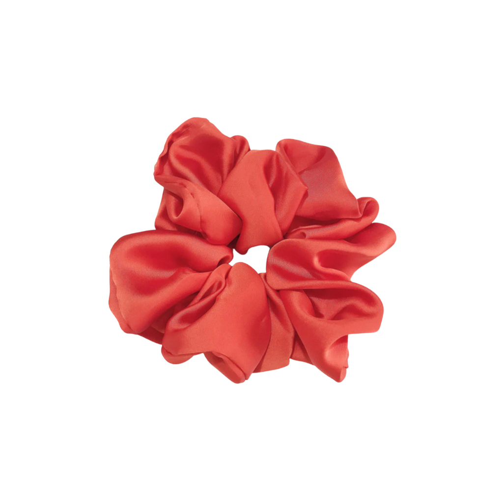 The Silk Coral Cloud Scrunchie