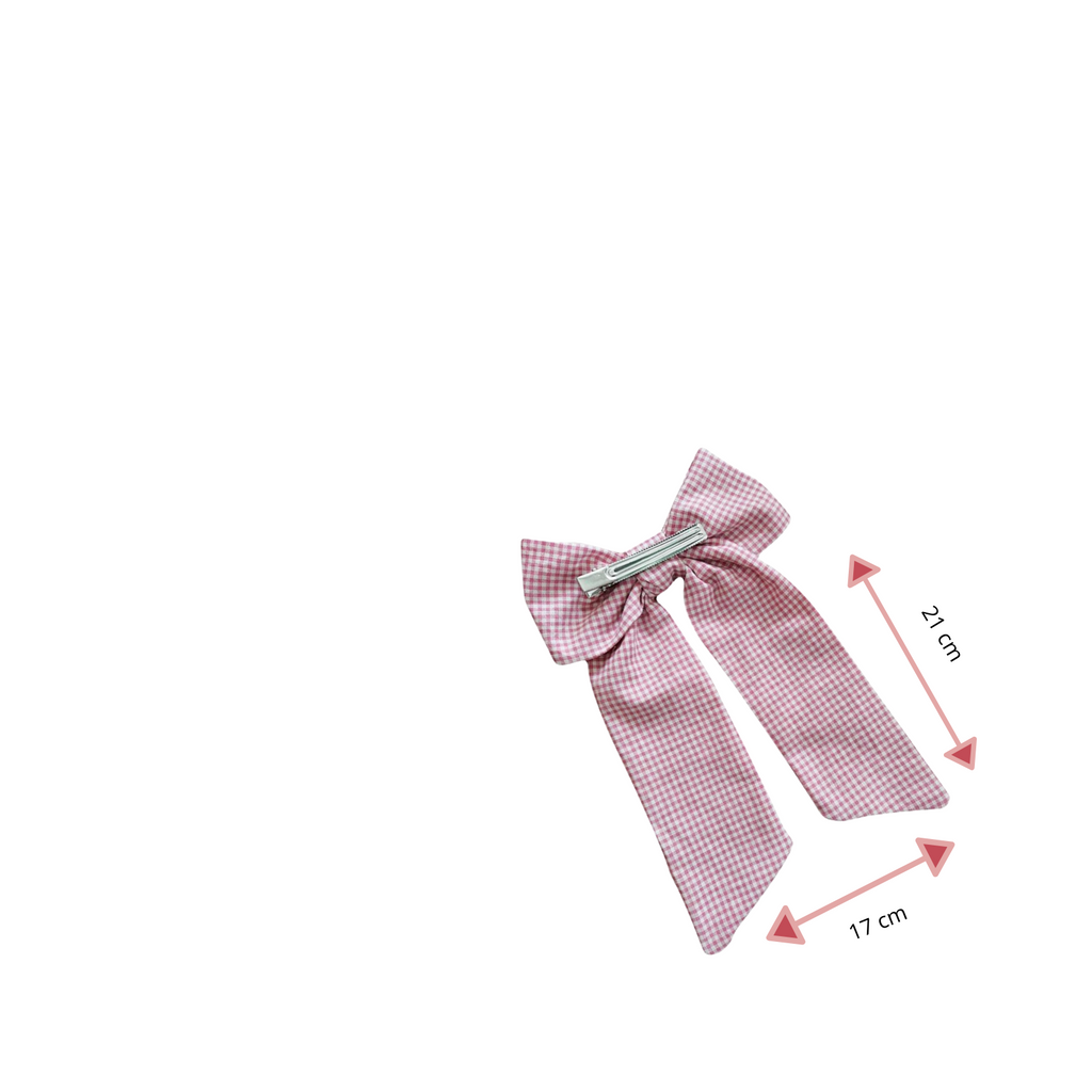 Tiny Giulio -  Red Gingham BOW