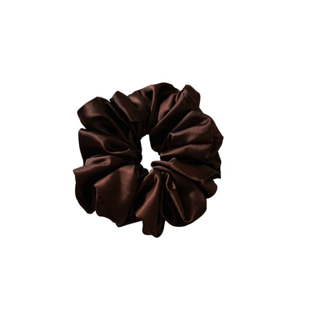 The Silk Brown Cloud Scrunchie