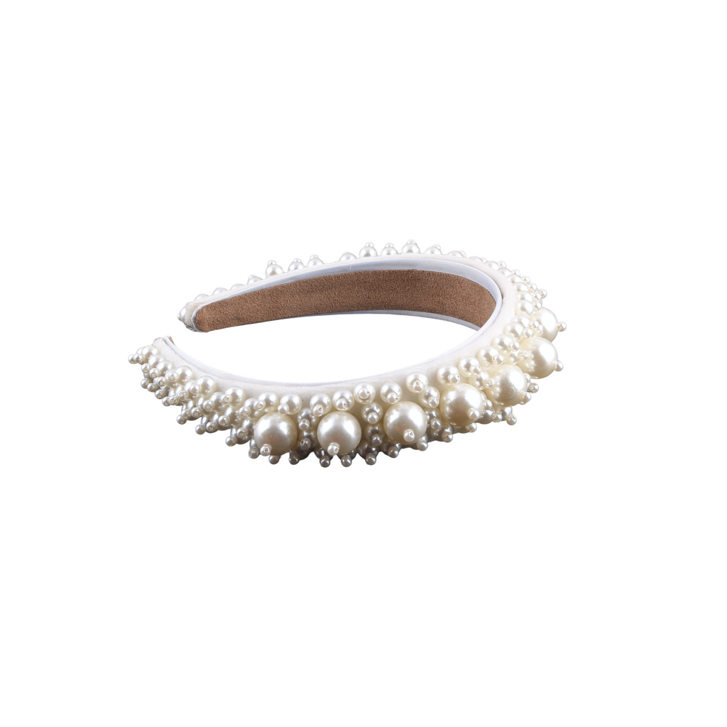 Alice Pearl Embellished Headband