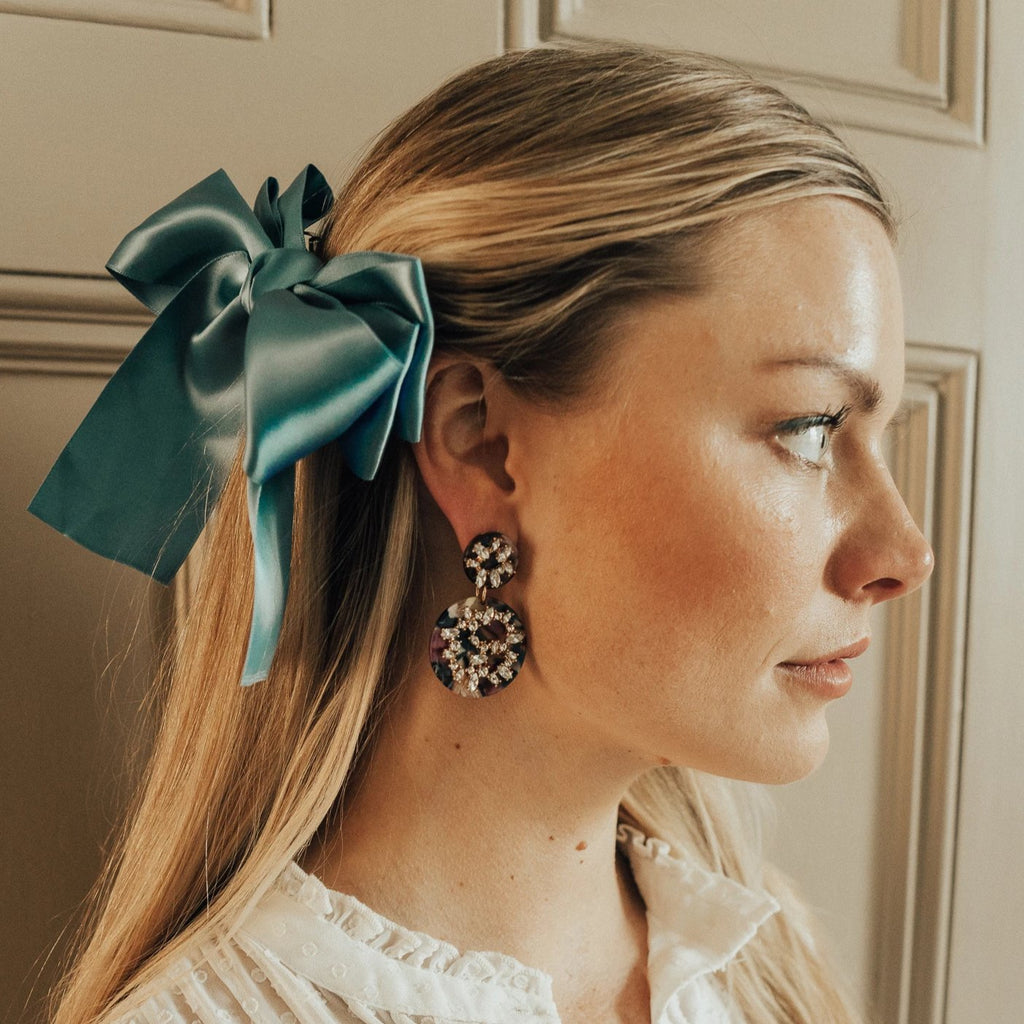 Audrey Bow Barrette - Giulio accessories
