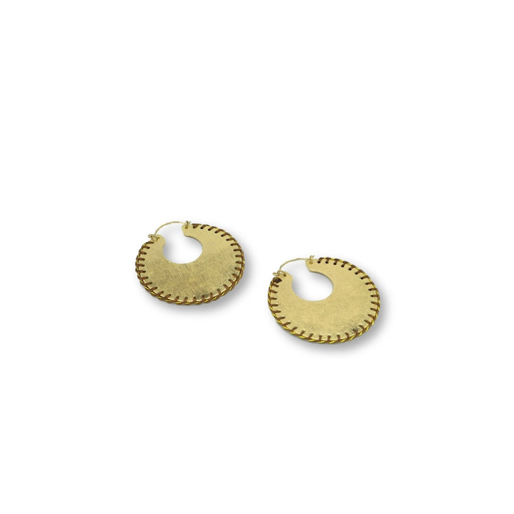 Rowan Hoops Earrings - Giulio accessories