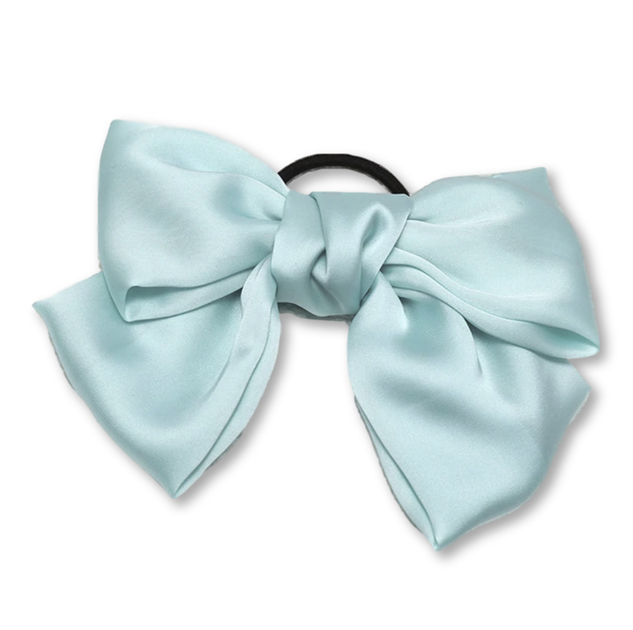 Teresa Silk Bow hair tie - Giulio accessories