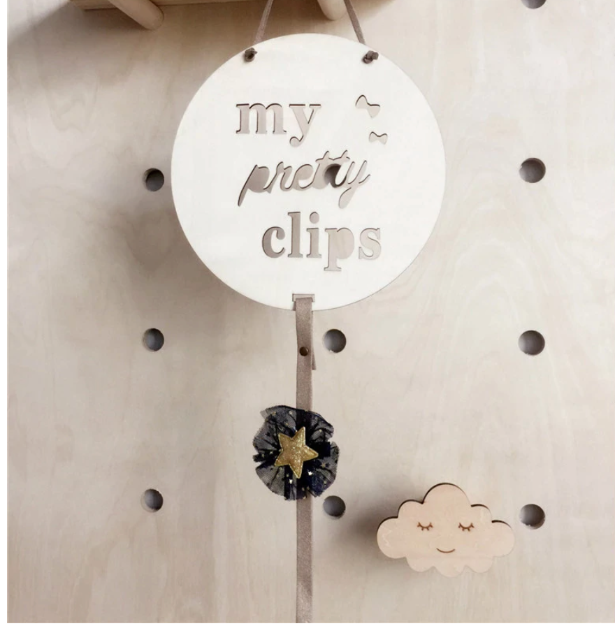 Tiny Giulio Wooden Hair Bow Hanger