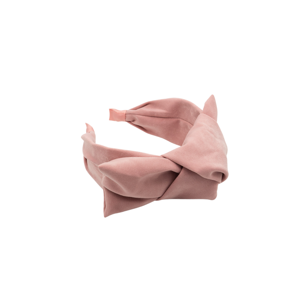 Apoline Pink Big Bow Headband