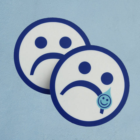 Bye Sad Girl Sticker