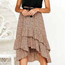 Load image into Gallery viewer, The 'Emma' Skirt (Red or Beige)