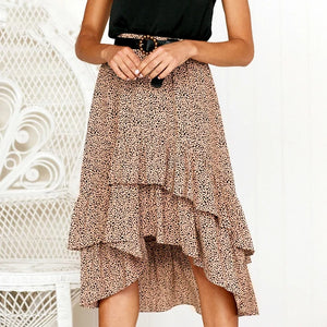 The 'Emma' Skirt (Red or Beige)