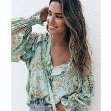 Load image into Gallery viewer, Anthea Boho Blouse - Mimi Lil & Co
