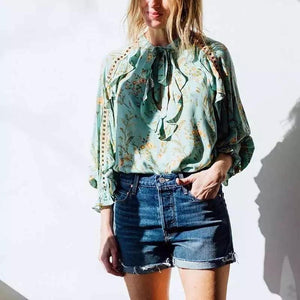 Anthea Boho Blouse - Mimi Lil & Co
