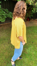 Beth Knit Top in Mustard - Mimi Lil & Co