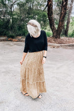 Load image into Gallery viewer, Bindy Boho Maxi Skirt-Leopard Print - Mimi Lil & Co